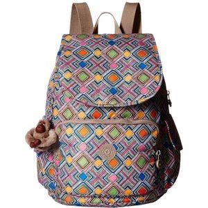 Kipling Ravier Backpack Geometric Ember